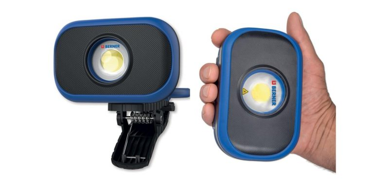 Mai più al buio con Pocket Flooder Light di Berner