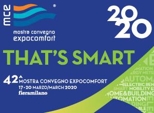 MOSTRA CONVEGNO EXPOCOMFORT 2020