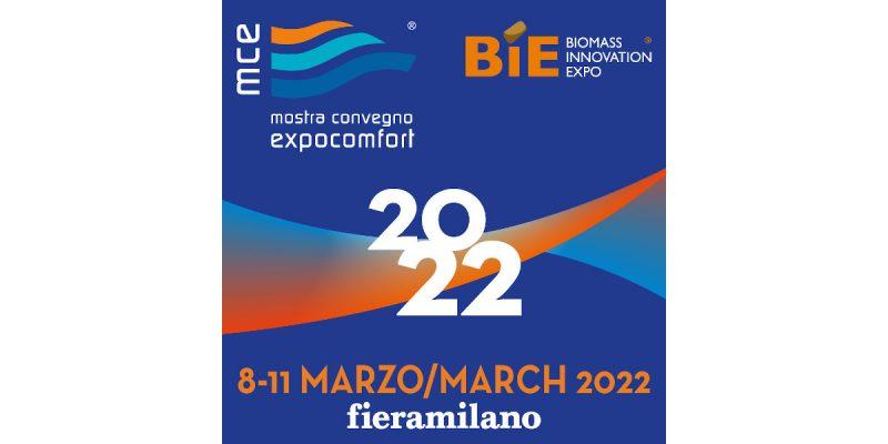 MCE e BIE riprogrammate dall'8 all'11 marzo 2022