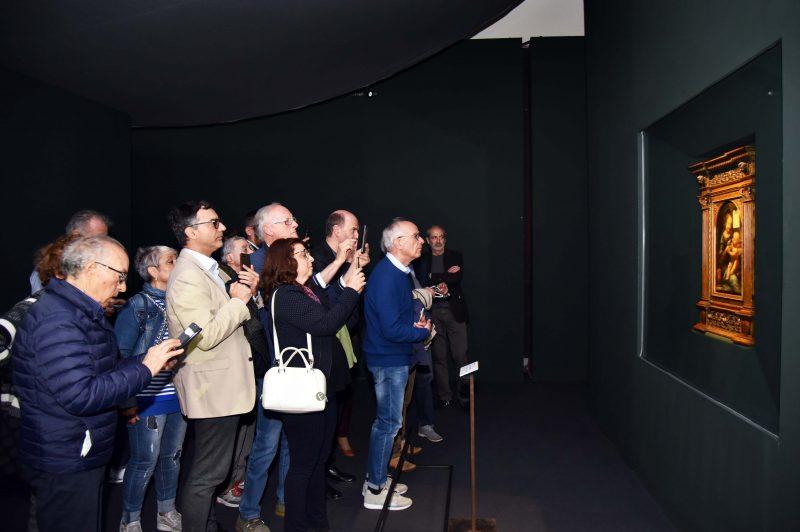 iGuzzini illumina la Madonna Benois di Leonardo