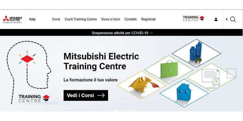 Numeri da record per la formazione online di Mitsubishi Electric