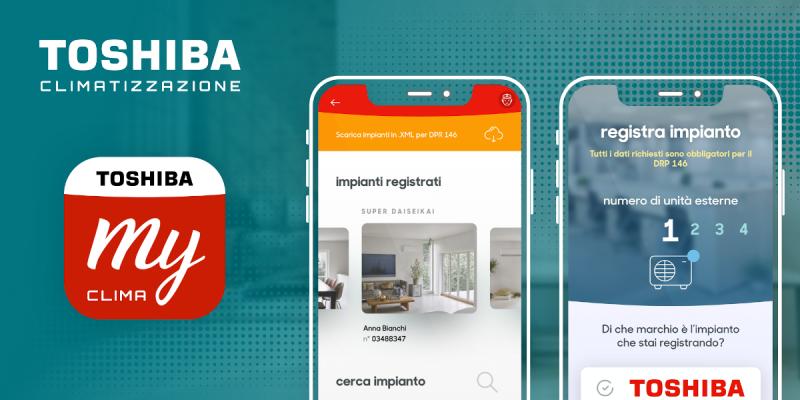 Con l'App My Toshiba Clima il tuo business è sempre con te