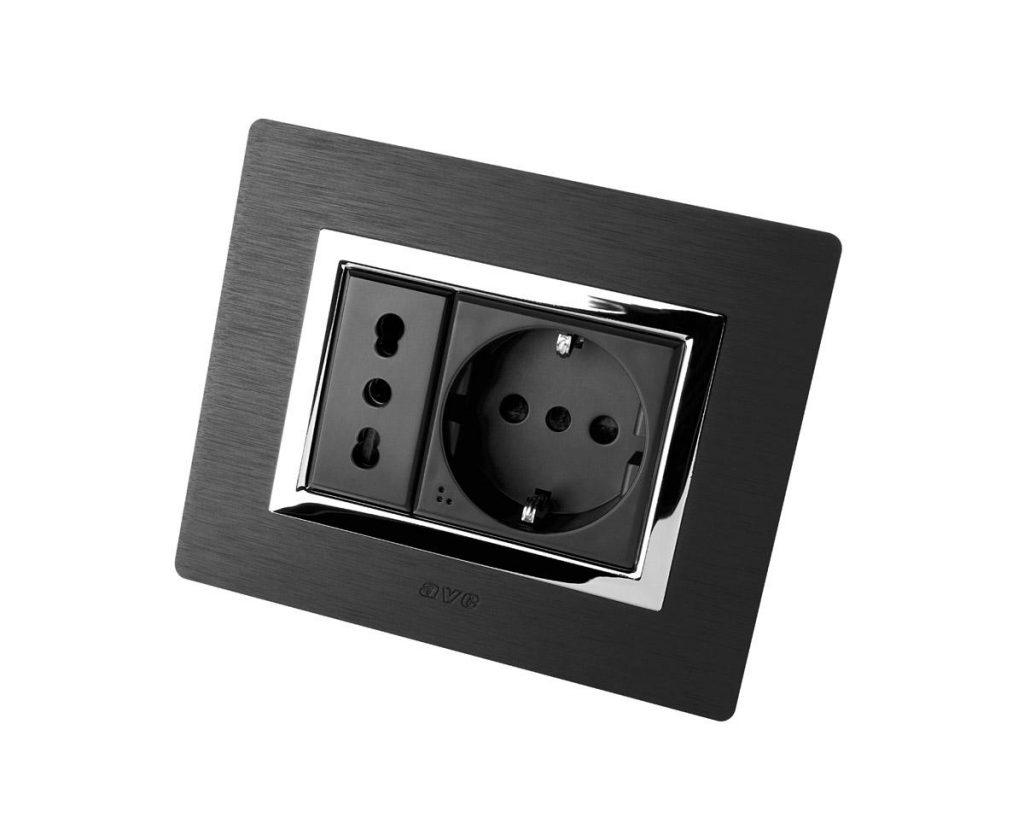 New Style Alluminio prese Tekla - antracite