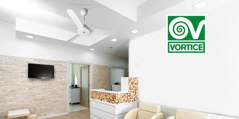 Ventilatori da soffitto NORDIK DESIGN di VORTICE