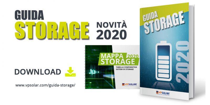 VP Solar presenta la nuova Guida Storage 2020