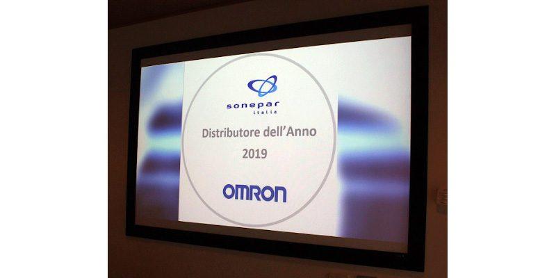 Sonepar è Distributore dell'anno 2019 per Omron