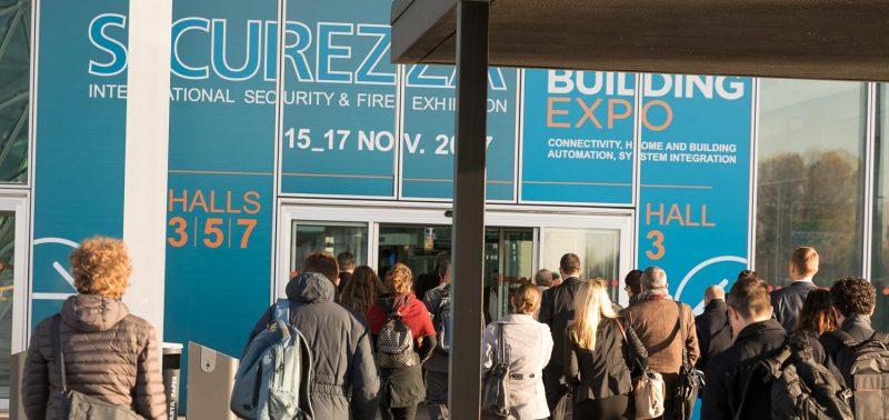 Più di 25.000 visitatori a Sicurezza 2017 e Smart Building Expo