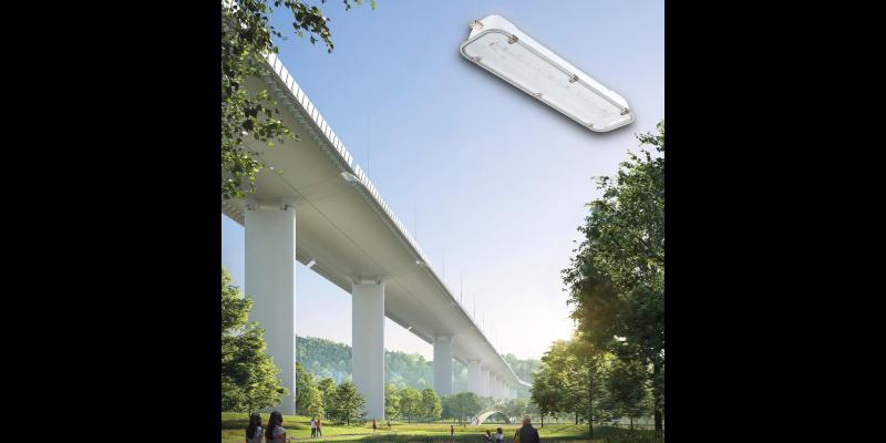 Le plafoniere di Palazzoli illuminano il nuovo ponte di Genova