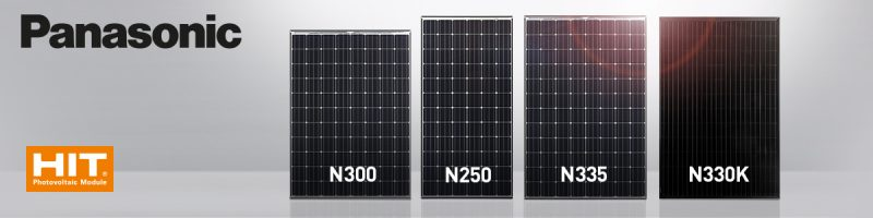 L'efficienza dei nuovi moduli fotovoltaici Panasonic HIT