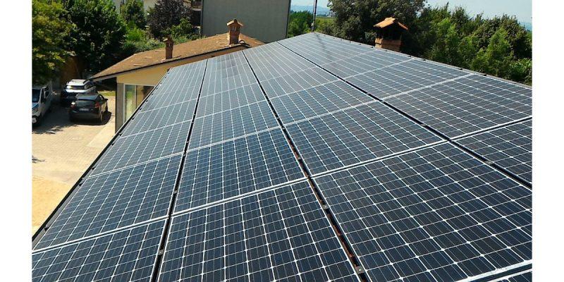 Moduli fotovoltaici Panasonic: efficienza dell'impianto superiore al 70%