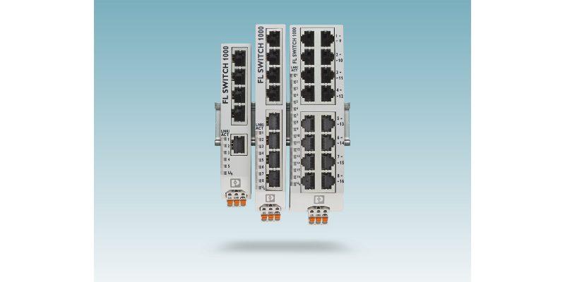 Nuova generazione di switch Ethernet unmanaged da Phoenix Contact