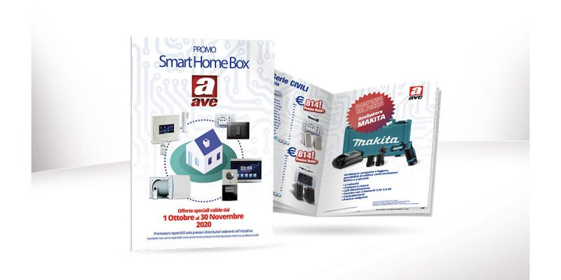 "AVE lancia la PROMO ""Smart Home Box"""