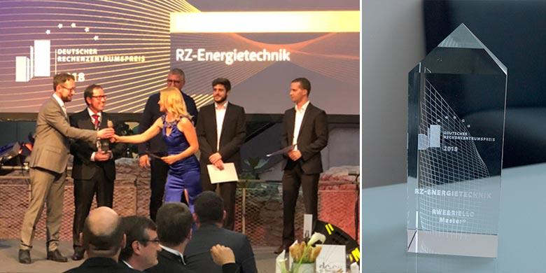 """Riello UPS vince in Germania il prestigioso """"Deutschen Rechenzentrumspreis"""