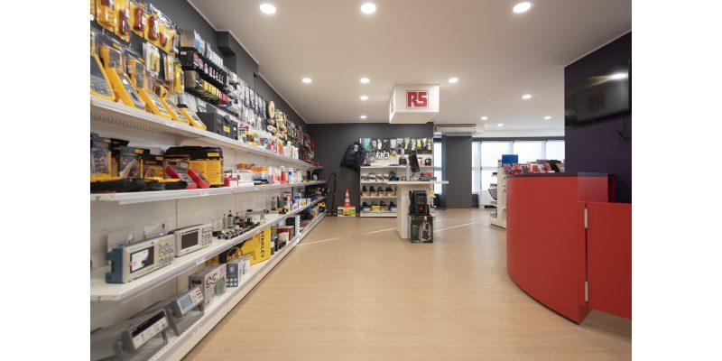 RS Components apre il primo punto vendita in Lombardia