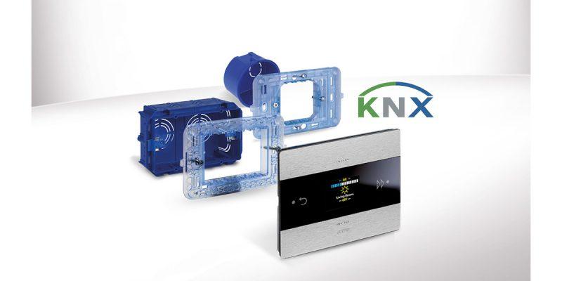 AVE Room Controller KNX: il device di design per le funzioni della stanza