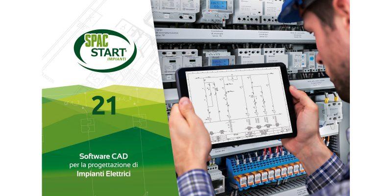 SPAC Start Impianti 21, la nuova versione del CAD per la progettazione elettrica