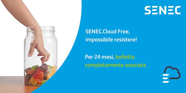 SENEC Cloud Free: bolletta a zero per 24 mesi
