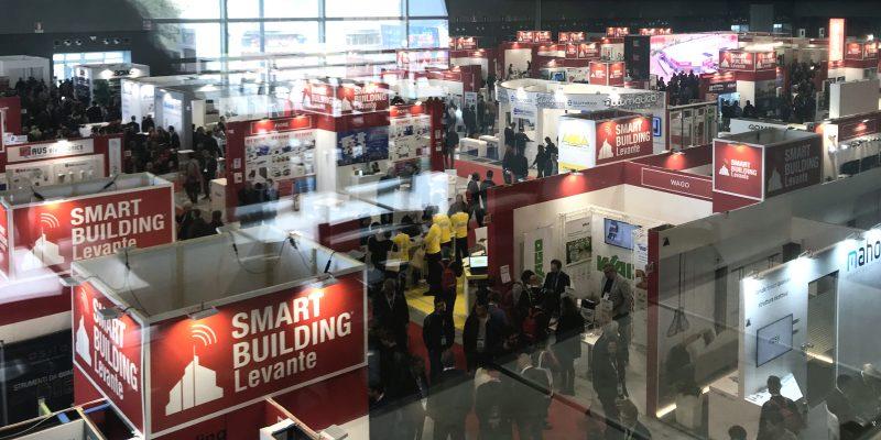 Smart Building Levante: grande successo e numeri straordinari