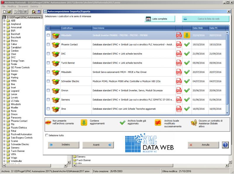 SPAC Data Web, lo strumento per un database sempre aggiornato