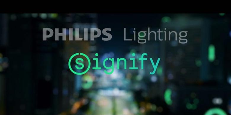 Philips Lighting cambia nome e diventa Signify