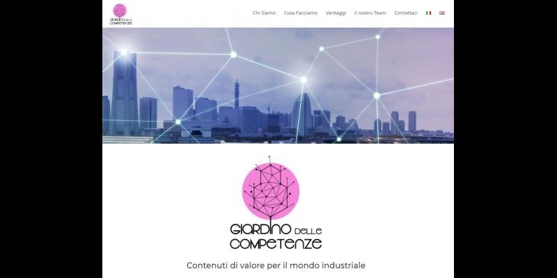 Giardino delle Competenze: il progetto dedicato alla comunicazione industriale