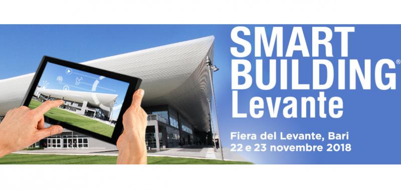 Smart Building Levante: l'edilizia 4.0 arriva a Bari