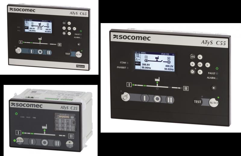 Da Socomec, nuove centraline di controllo ATS per tutte le esigenze