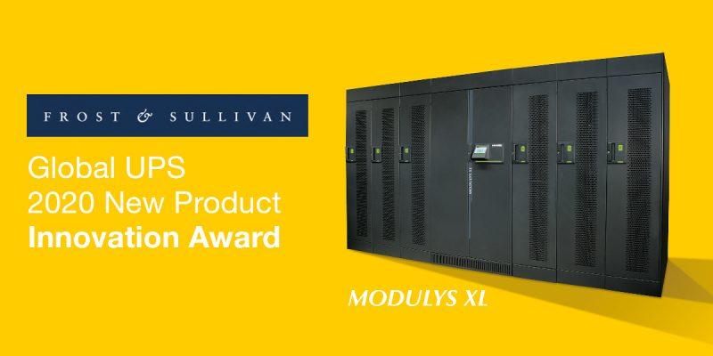 """Gli UPS Modulys XL di Socomec ricevono il premio """"New product innovation"""""""