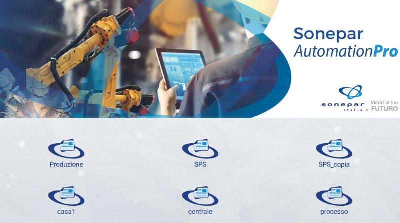 Sonepar Automation Pro è l'app per il controllo di processi