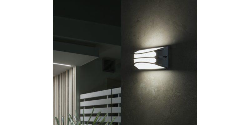 Bra, la nuova lampada da esterno di Sovil che arreda con personalità