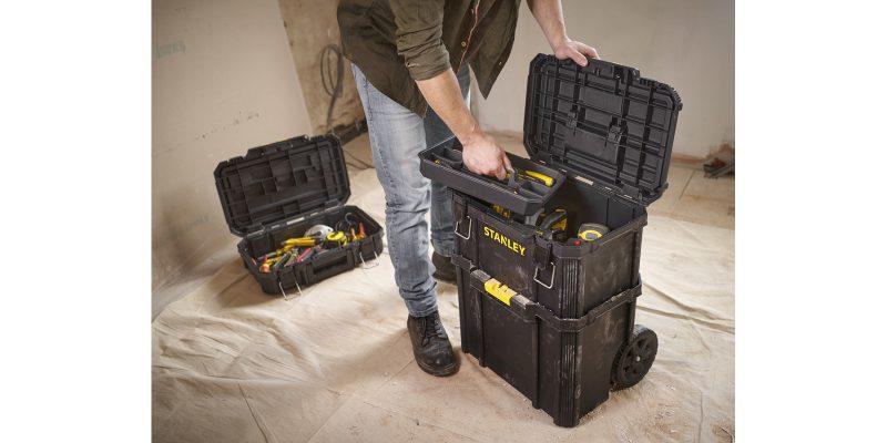 Stanley Modular Rolling Toolbox: il Carrello capiente e ben organizzato