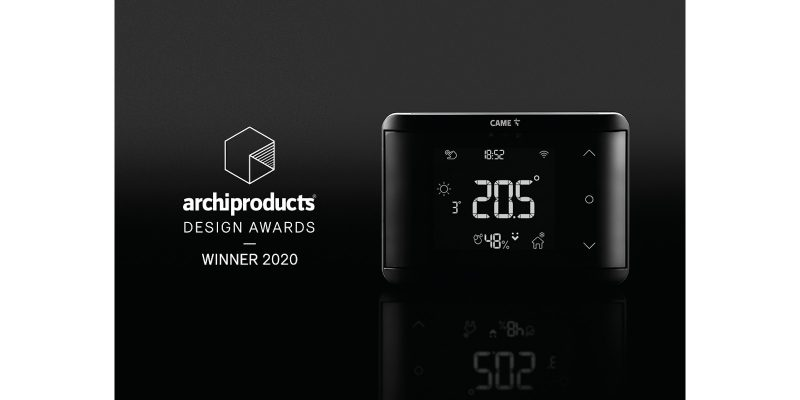 TH/700 di CAME vince l'Archiproducts Design Awards 2020