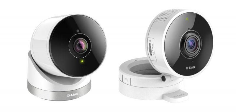Da D-Link nuove videocamere  Wi-Fi HD, ultra-compatte e con visuale a 180°