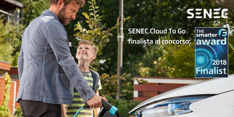 """SENEC finalista al premio """"The Smarter E Award"""" 2018"""
