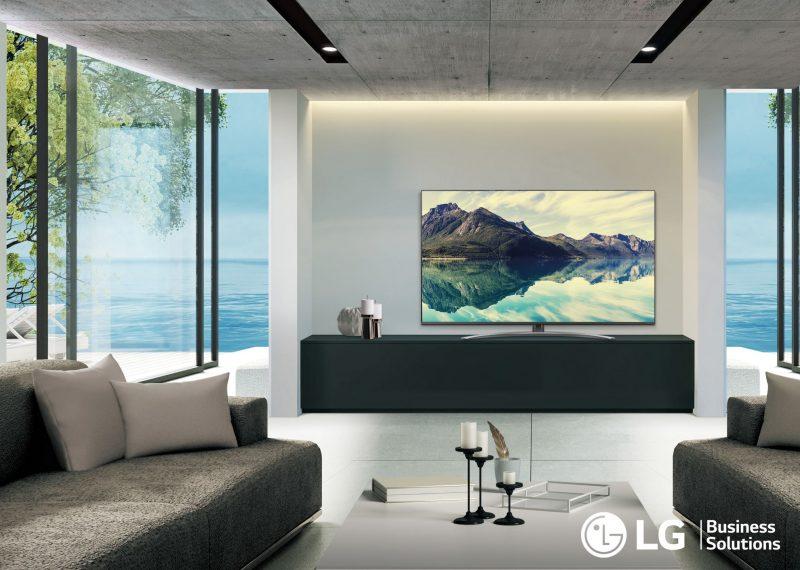 LG presente a Hospitality Day di Rimini: le proposte della linea hotel TV