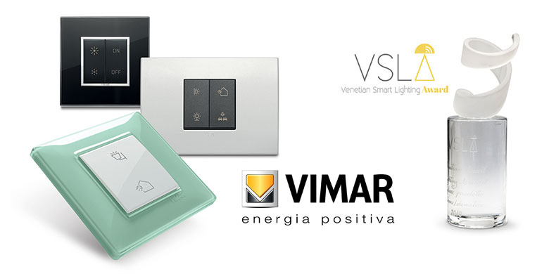 Vimar si aggiudica il Venetian Smart Lighting Award 2018