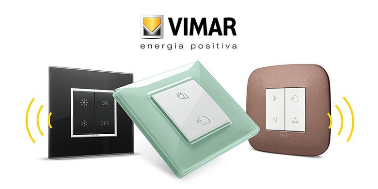 Nuovi comandi in radiofrequenza Vimar, una nuova era per l'illuminazione
