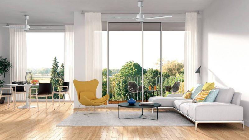I nuovi ventilatori a soffitto a risparmio energetico Nordik Eco di Vortice