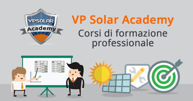 VP Solar Academy aumenta l'offerta formativa per gli installatori