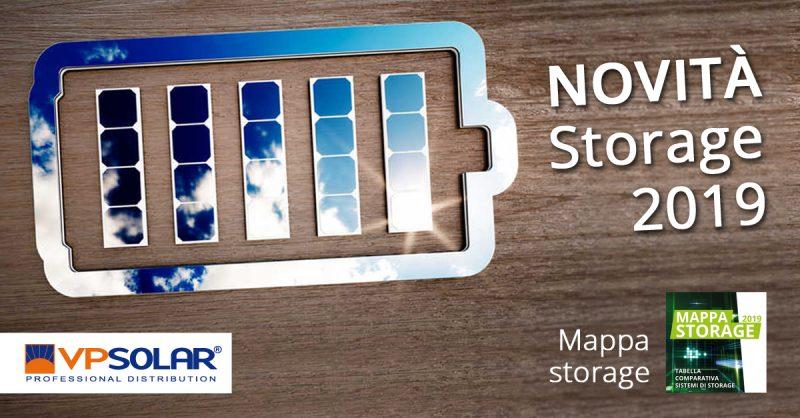 VP Solar annuncia le novità nello storage 2019