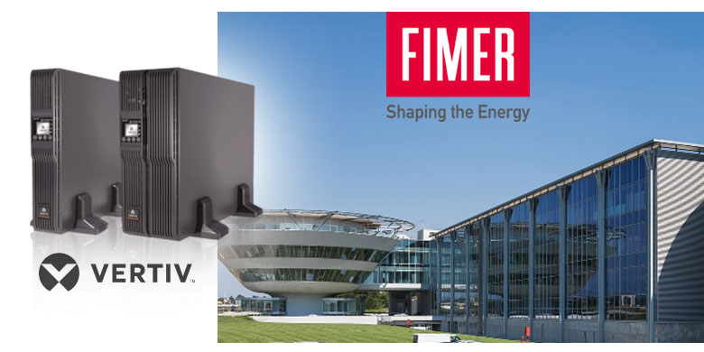 Fimer sceglie UPS Liebert GXT4 Vertiv per proteggere i sistemi fotovoltaici