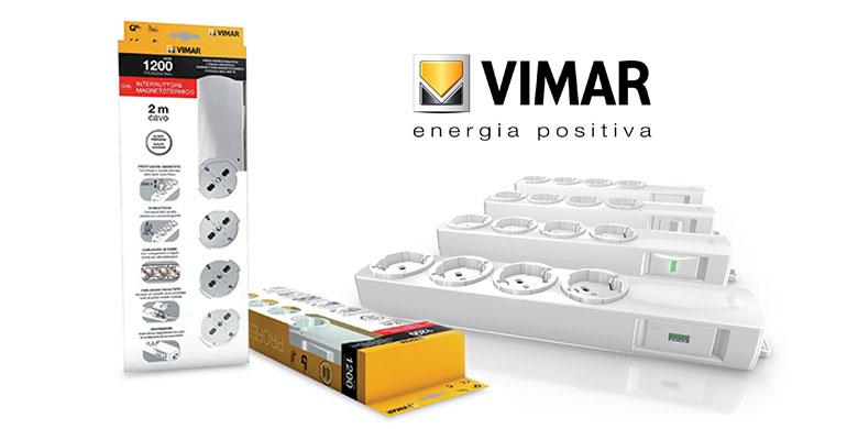 multiprese 1200 Professional di Vimar, professionali come nessun'altra