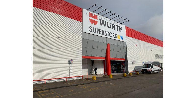 Riapre Würth Superstore, il negozio multimarca dedicato al mondo elettrico