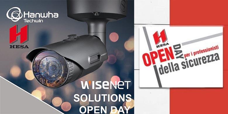 Wisenet Solution Open Day nella sede HESA di Milano