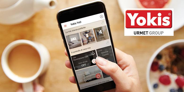 """YnO DI YOKIS: L'elemento """"smart"""" che accresce la funzionalità della casa"""