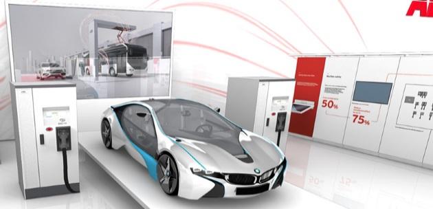 ABB lancia il caricabatterie per veicoli elettrici più veloce al mondo