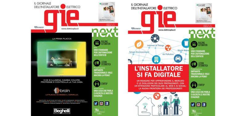 Quanto siete digital? Scopritelo nel primo numero di GIE – Il Giornale dell'Installatore Elettrico