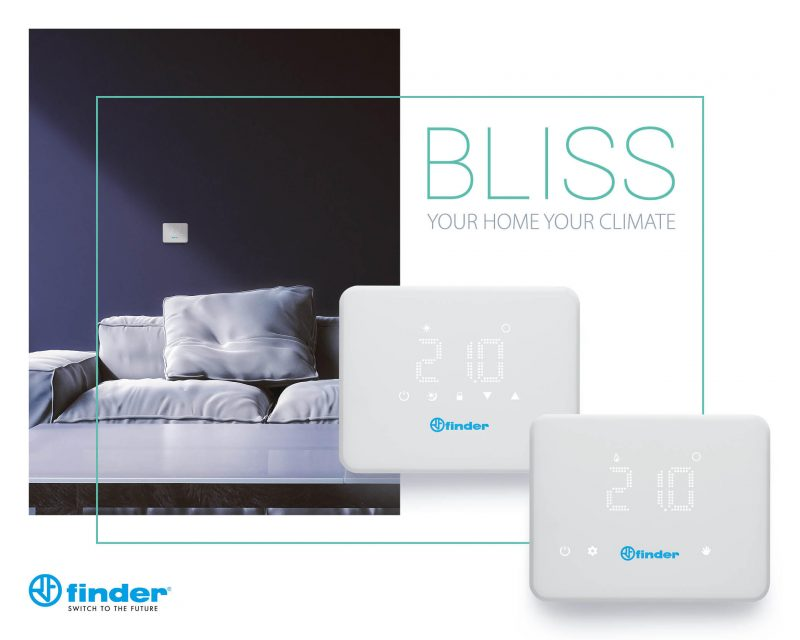 BLISS: il comfort living firmato Finder