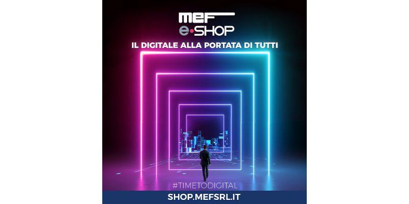 Online il nuovo e-commerce MEF: il digitale alla portata di tutti