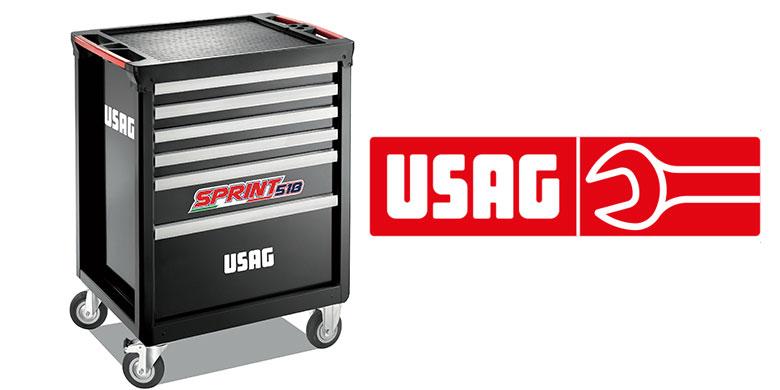 Carrello portautensili USAG Sprint 518: semplice e robusto